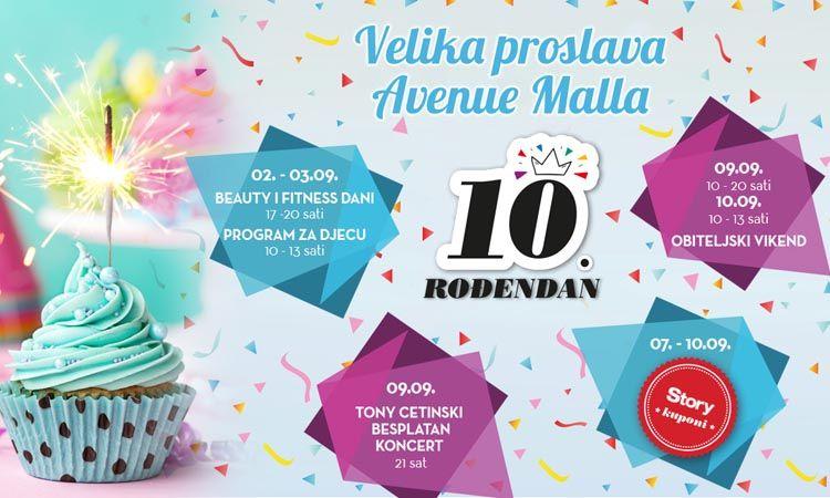 avenue mall slavi rođendan Avenue Mall Zagreb slavi rođendan! – Modni Almanah avenue mall slavi rođendan