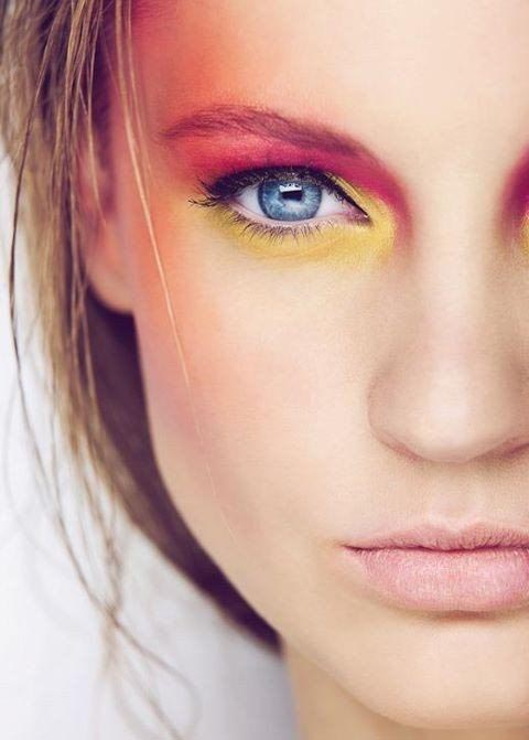 beauty-neon-make-up-šminka-modnialmanah