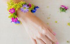 diy-napravi-sam-cvijeće-narukvica-modnialmanah-praktični-savjet