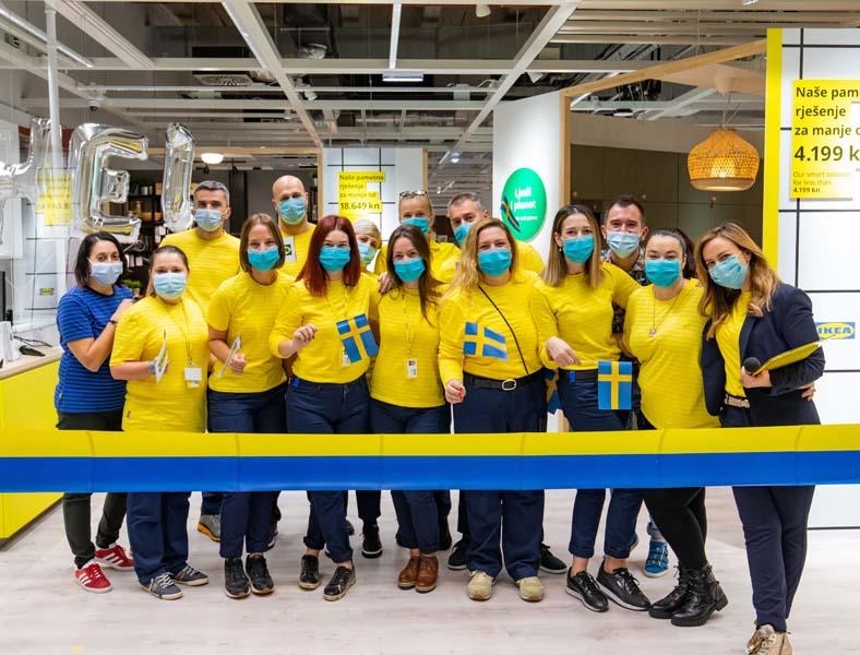 U Splitu je s radom započeo IKEA Studio za planiranje (Vukovarska ulica 207, u sklopu City Centera one), kojim IKEA Hrvatska želi svoja rješenja i usluge učiniti